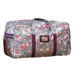 Bambino Overnight Travel Bag Silver/ Purple