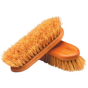 Salmon Rice Root and Synthetic Fibre Dandy Brush