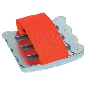 Metal Curry Comb with Hand Strap