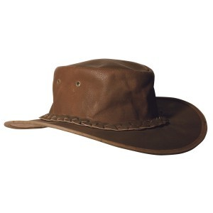 Outback Leather Hat