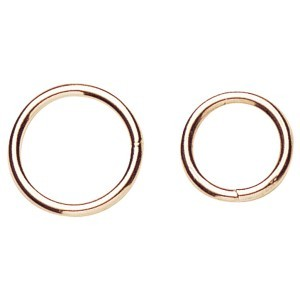 Nickel Plated Martingale RIngs