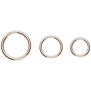 Nickel Plated Harness Rings
