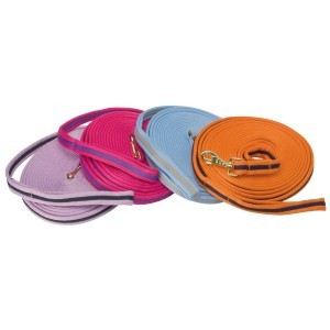 Soft Tubular Web Lunge Lead