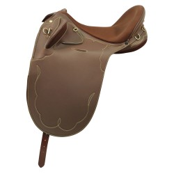 Horsemaster Drafter Poley - Brown Synthetic