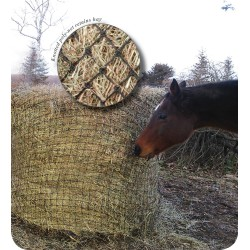 Showmaster Round Bale Poly Slow Feed Haynet Medium 5