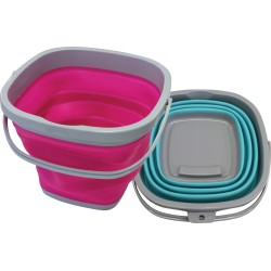 ShowMaster Collapsible Bucket Grey/Teal