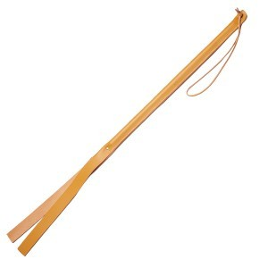 Leather Covered Cattle Cane
