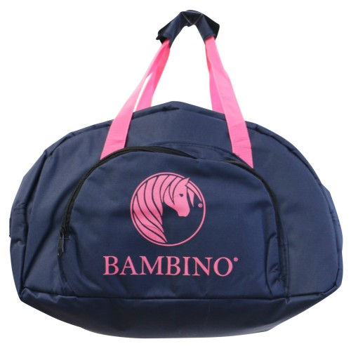 Bambino Helmet Carry Bag Navy w/Pink