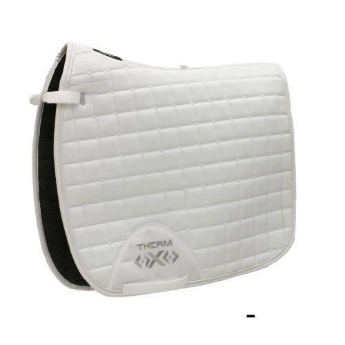 Therm-X Ceramic Dressage Saddle Pad White