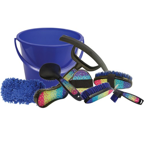 Showmaster Rainbow Crystal Grooming Kit