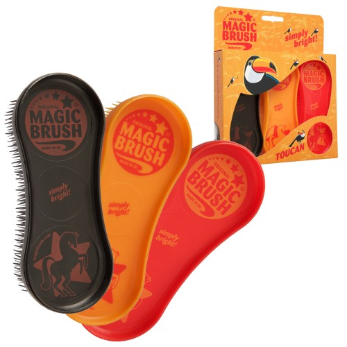 Magic Grooming Brush Pack Toucan - 3 Pack