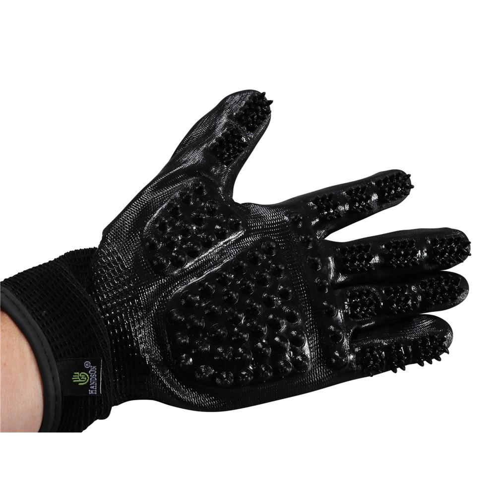 Handson Grooming Gloves Medium Saddlery Trading